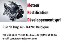 Logo M.R.D. - Moteur Rectification Développement