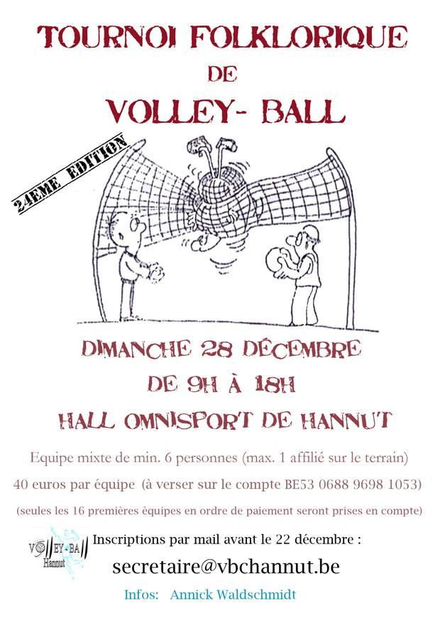 Tournoi Folklorique VBC Hannut